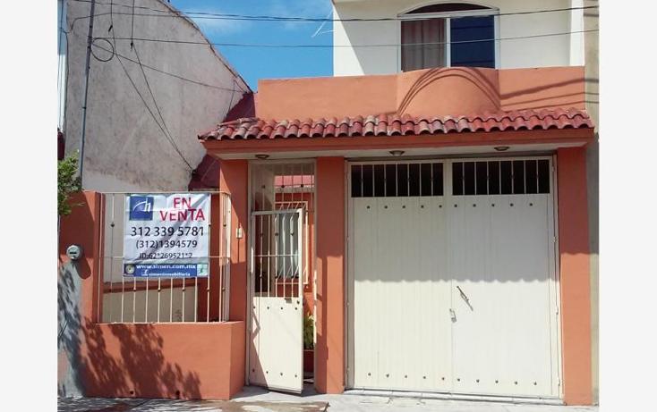 Foto de casa en venta en gardenias 511, villa flores, villa de álvarez, colima, 1750932 No. 01