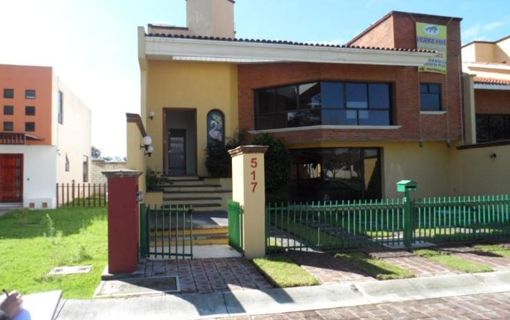 Foto de casa en venta en  517, campestre los sabinos, apizaco, tlaxcala, 397229 No. 01