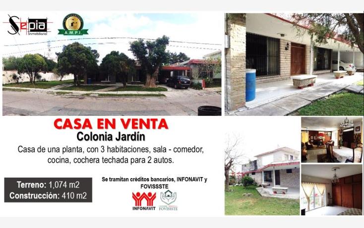 Foto de casa en venta en  52, jardín, matamoros, tamaulipas, 1745407 No. 01