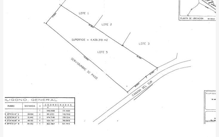 Foto de terreno habitacional en venta en  530, ca?ada del sur a. c., monterrey, nuevo le?n, 1686230 No. 09