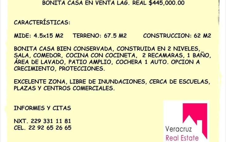 Foto de casa en venta en  56, palma real, veracruz, veracruz de ignacio de la llave, 1647336 No. 10