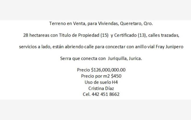 Foto de terreno habitacional en venta en  569, mompani, querétaro, querétaro, 1340963 No. 07