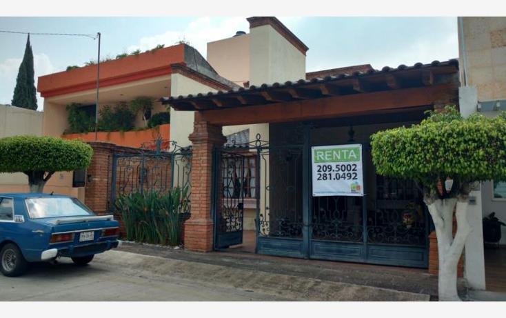 Foto de casa en renta en  57, bugambilias, morelia, michoacán de ocampo, 1987512 No. 01