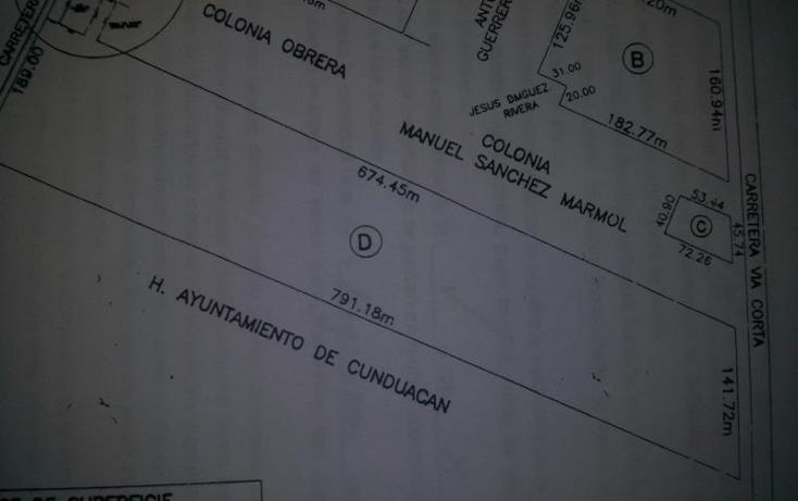 Foto de terreno industrial en renta en  6, cunduacan centro, cunduacán, tabasco, 471551 No. 04