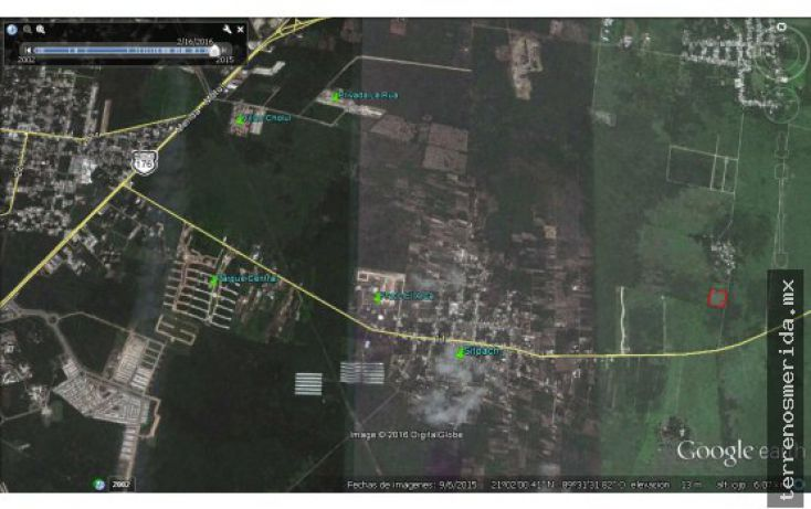 Foto de terreno habitacional en venta en, 60 norte, mérida, yucatán, 2042009 no 01