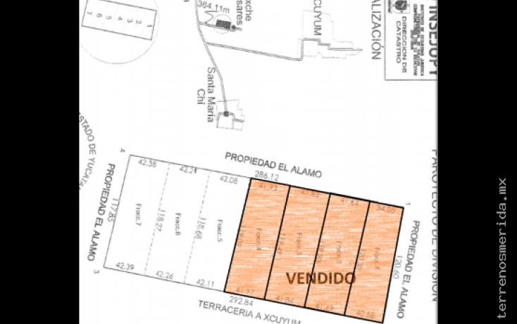 Foto de terreno habitacional en venta en, 60 norte, mérida, yucatán, 2042009 no 05