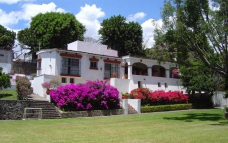Foto de casa en venta en  600, tlaltenango, cuernavaca, morelos, 385592 No. 01