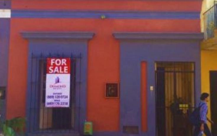 Foto de casa en venta en  628, centro, mazatlán, sinaloa, 1728650 No. 01