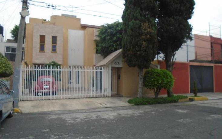 Foto de casa en venta en  63, los cedros, coyoac?n, distrito federal, 1425331 No. 01