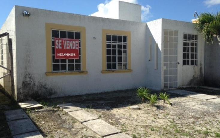 Foto de casa en venta en  63, puerto morelos, benito juárez, quintana roo, 1017715 No. 01