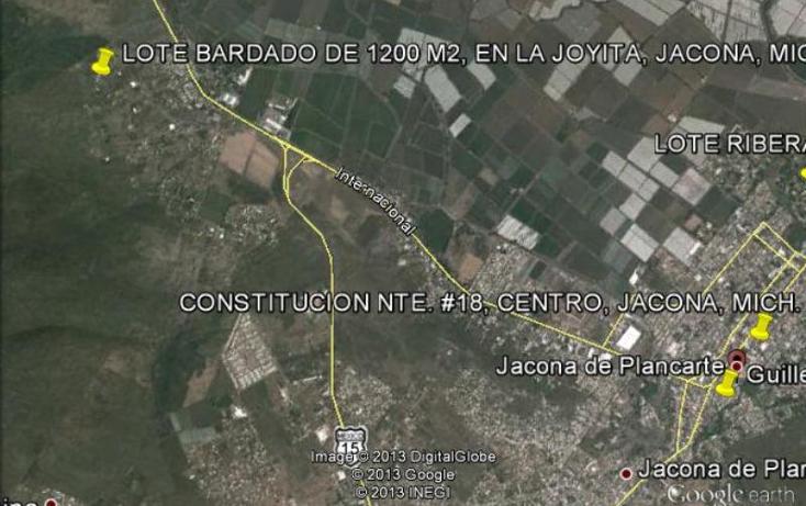 Foto de terreno habitacional en venta en  64, la joyita, jacona, michoac?n de ocampo, 388223 No. 04
