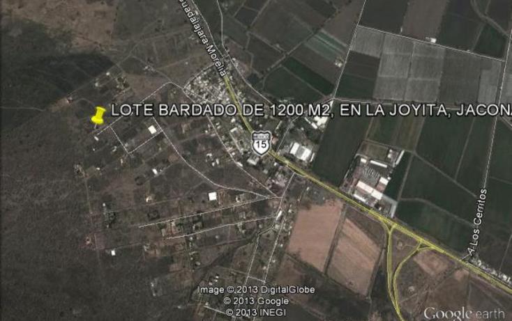 Foto de terreno habitacional en venta en  64, la joyita, jacona, michoac?n de ocampo, 388223 No. 05