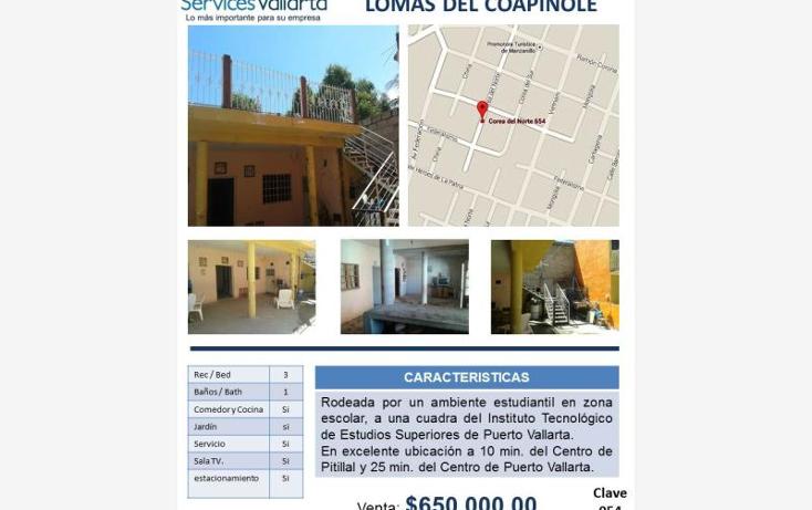 Foto de casa en venta en  654, lomas de coapinole, puerto vallarta, jalisco, 562684 No. 08