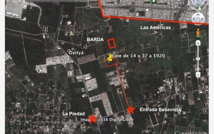 Foto de terreno habitacional en venta en 7 1, dzitya, mérida, yucatán, 1979846 no 01