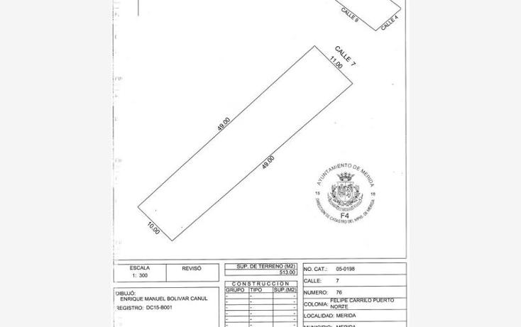Foto de terreno habitacional en venta en 7 76, felipe carrillo puerto, mérida, yucatán, 1705266 No. 01