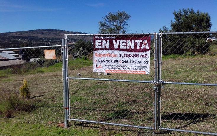 Foto de terreno habitacional en venta en  7, atlangatepec, atlangatepec, tlaxcala, 610679 No. 01
