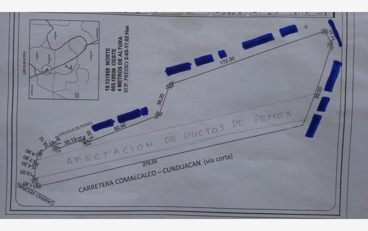 Foto de terreno habitacional en venta en  7, cunduacan centro, cunduacán, tabasco, 1615080 No. 03