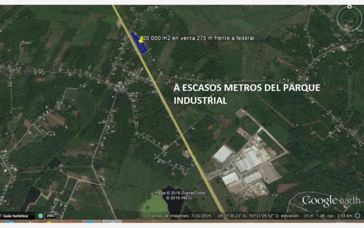 Foto de terreno habitacional en venta en  7, cunduacan centro, cunduacán, tabasco, 1615080 No. 04