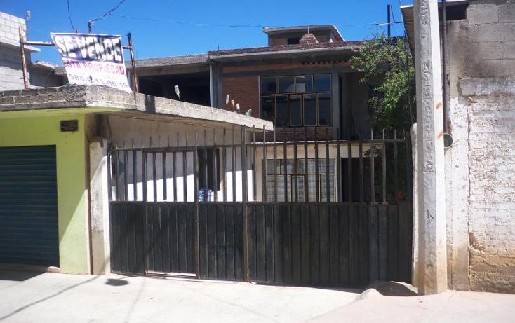 Foto de casa en venta en plaza principal loma alta 7, loma alta, villa del carbón, méxico, 1842358 No. 01