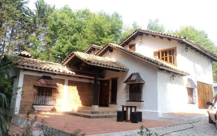 Foto de casa en venta en cipres 7, los alcanfores, san cristóbal de las casas, chiapas, 589206 No. 01