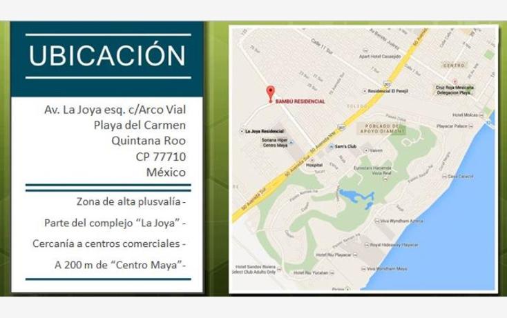 Foto de terreno habitacional en venta en  7, playa del carmen, solidaridad, quintana roo, 1900240 No. 06