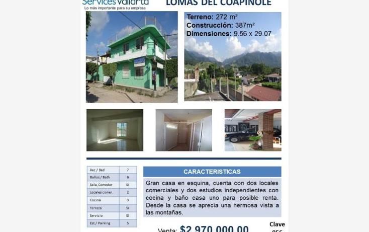 Foto de casa en venta en  704, lomas de coapinole, puerto vallarta, jalisco, 562691 No. 02