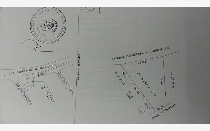 Foto de terreno habitacional en venta en  73, arboledas, querétaro, querétaro, 1023593 No. 02