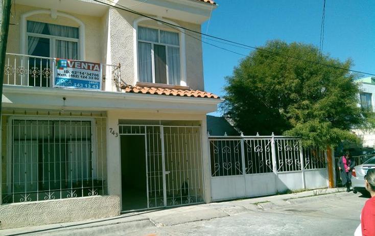 Foto de casa en venta en  743, floresta, irapuato, guanajuato, 589122 No. 02