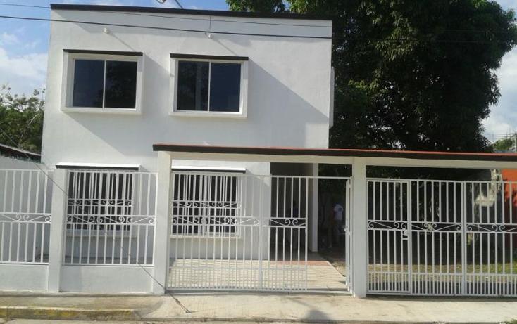 Foto de casa en renta en deportivo cunduacan 77, cunduacan centro, cunduacán, tabasco, 1494667 No. 01