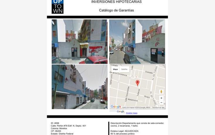 Foto de departamento en venta en  78, morelos, cuauhtémoc, distrito federal, 1645144 No. 01