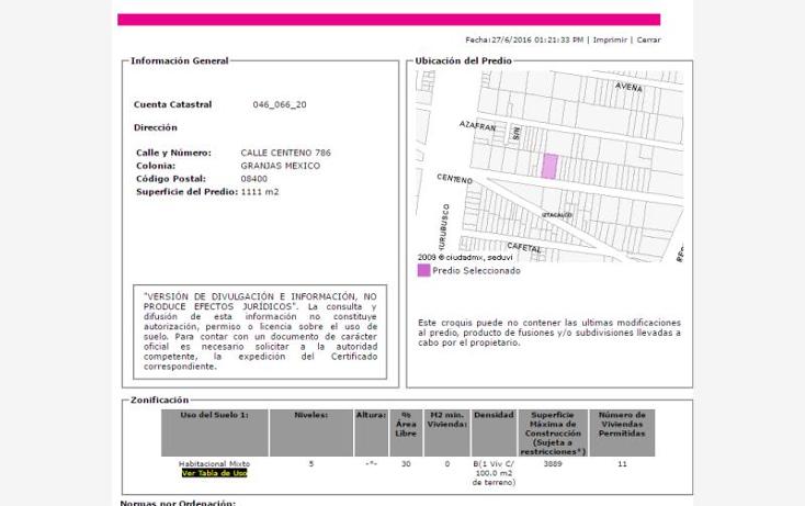 Foto de departamento en venta en  786, granjas m?xico, iztacalco, distrito federal, 2028592 No. 03