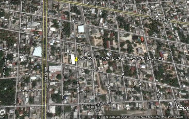 Foto de terreno habitacional en venta en 4 norte , ejidal, solidaridad, quintana roo, 2723872 No. 06