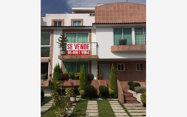 Foto de casa en venta en  8, cumbre norte, cuautitl?n izcalli, m?xico, 1667550 No. 01