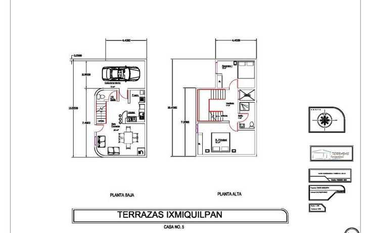 Foto de casa en venta en  8, ixmiquilpan centro, ixmiquilpan, hidalgo, 916927 No. 05