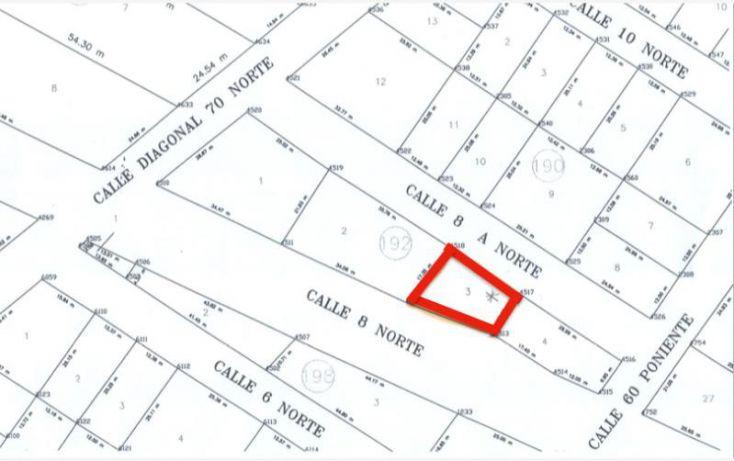Foto de terreno habitacional en venta en 8 norte, ejidal, solidaridad, quintana roo, 1216295 no 03