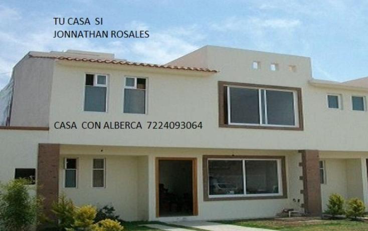 Foto de casa en venta en  800, san francisco, san mateo atenco, méxico, 386199 No. 01