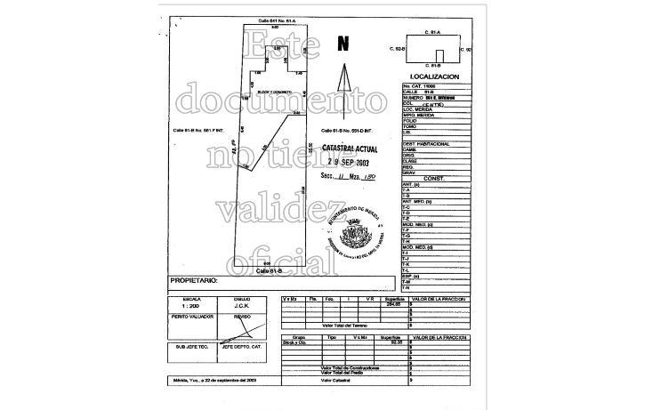 Foto de casa en venta en 81 b , obrera, mérida, yucatán, 1836282 No. 13