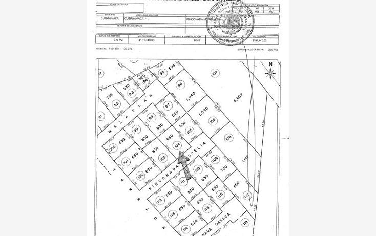Foto de terreno habitacional en venta en  90, vista hermosa, cuernavaca, morelos, 1741172 No. 17