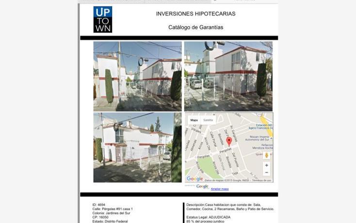 Foto de casa en venta en  91, jardines del sur, xochimilco, distrito federal, 1581010 No. 02