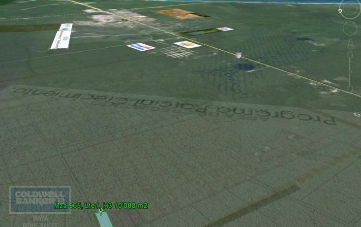 Foto de terreno habitacional en venta en  913, tulum centro, tulum, quintana roo, 1659843 No. 04