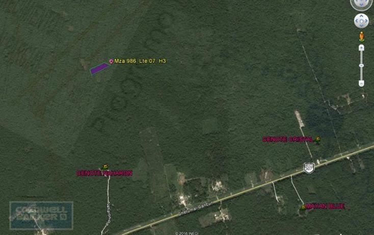 Foto de terreno habitacional en venta en  913, tulum centro, tulum, quintana roo, 1659895 No. 02