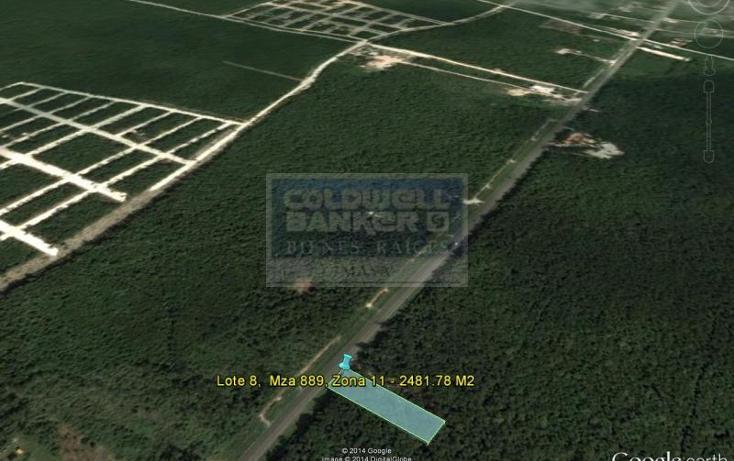 Foto de terreno habitacional en venta en  913, tulum centro, tulum, quintana roo, 586847 No. 02