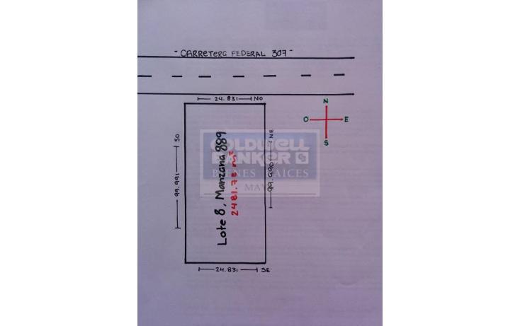 Foto de terreno habitacional en venta en  913, tulum centro, tulum, quintana roo, 586847 No. 06