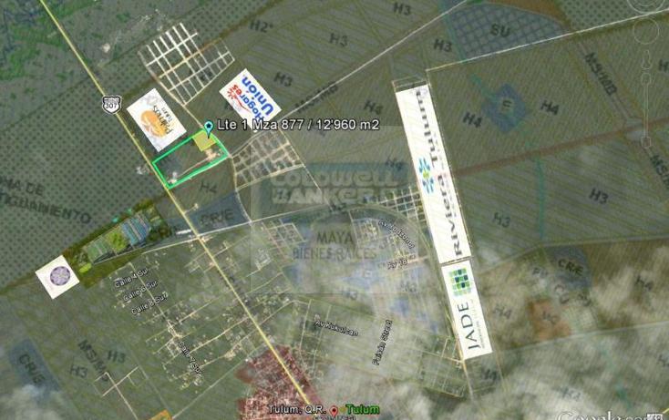 Foto de terreno habitacional en venta en  913, tulum centro, tulum, quintana roo, 784951 No. 02