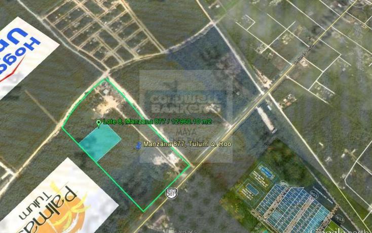 Foto de terreno habitacional en venta en  913, tulum centro, tulum, quintana roo, 784953 No. 06