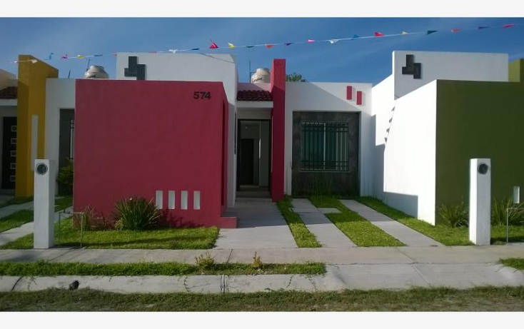 Foto de casa en venta en  970, villa flores, villa de ?lvarez, colima, 1527942 No. 01
