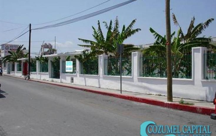 Foto de edificio en venta en hotel aguilar, calle 3 sur entre 5a avenida y rafael e. melgar # 98, cozumel, cozumel, quintana roo, 1155309 No. 01