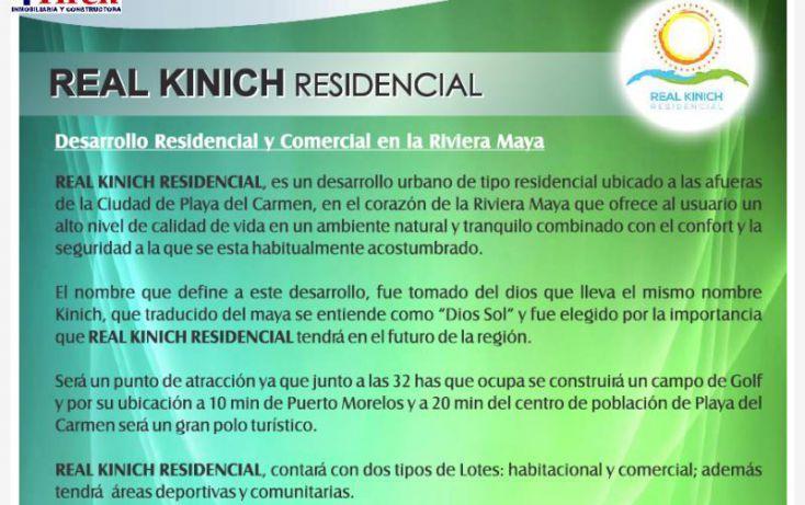 Foto de terreno habitacional en venta en a 3 km de carret cancun  playa del carmen frente a punta moroma, calica, solidaridad, quintana roo, 1024277 no 06