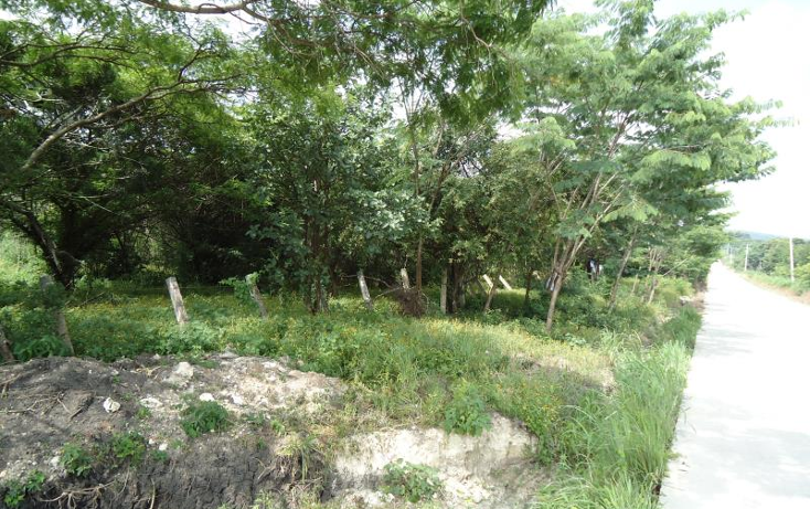 Foto de terreno habitacional en venta en  a 5 kilometro de club camp, granjas club campestre, tuxtla guti?rrez, chiapas, 585657 No. 01