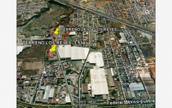 Foto de terreno habitacional en venta en a la cantera, ampliación los reyes, la paz, estado de méxico, 971159 no 01